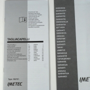 Imetec Hi-Man HC9 100 accessori